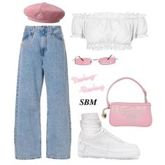 top from if u wanna wear this look u can eliminate either the hat or the clips 💗 Kpop Fashion Outfits, Edgy Outfits, Swag Outfits, Retro Outfits, Cute Casual Outfits, Outfits For Teens, Vintage Outfits, Polyvore Outfits Casual, Rock Outfits