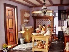 Georgian period kitchen by Pedrete Trigos!! Cocina de la casa Georgiana.