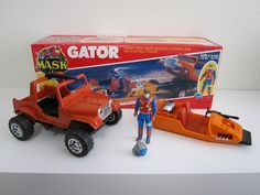 M.A.S.K. Gator (1980's) by north-exit, similar to GI Joe. via Flickr