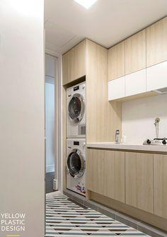 여의도 롯데캐슬 엠파이어 96평 아파트 인테리어 [ 옐로플라스틱/ yellowplastic / 옐로우플라스틱 ] : 네이버 블로그 Stacked Washer Dryer, Home Appliances, House Appliances, Appliances