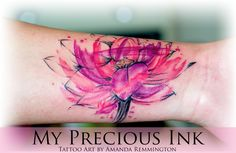 TATTOO's - My Precious Ink Tattoo Shop Eindhoven Watercolor