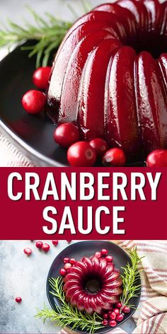 Homemade Cranberry Sauce: so easy to make from scratch! Make it chunky or smooth, whole berry or jellied. So much better than canned! Jelly Recipes, Sauce Recipes, Dessert Recipes, Cooking Recipes, Best Cranberry Sauce, Homemade Cranberry Sauce, Cranberry Recipes Easy, Chutney, Thanksgiving Desserts