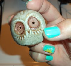 vintage owl figurine {auction find}