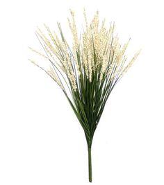 Blooming Spring 25'' Grass Bush-Green