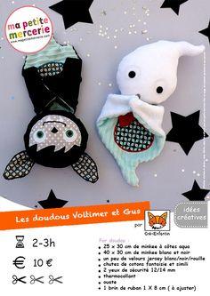 """A tous, voici un lien vers le site de """"ma petite mercerie"""" qui vous propose des tutos gratuits de deux adorables peluches sur le thème Halloween fait par """"Cré-enfantin"""". -> http://blog.mapetitemercerie.com/diy-les-doudous-dhalloween-de-cre-enfantin/#comment-91601..."""