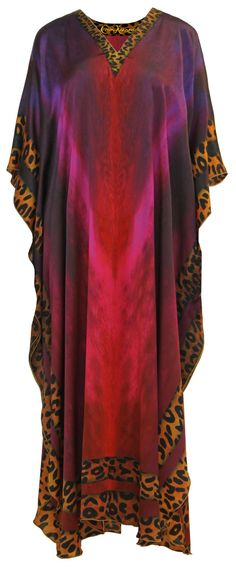 Leopard KaftanLeopard print is a stylish and classic design that is timeless. This gorgeous