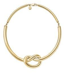 Michael Kors Gold-Tone Knot Necklace