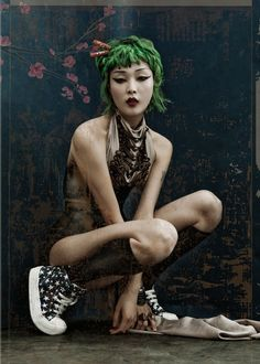 Sung Hee for Dossier Journal Spring/Summer 2012 by Kah Poon