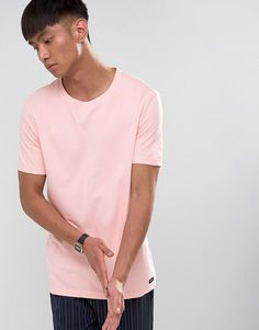 Dr Denim Patrick T-Shirt - Pink