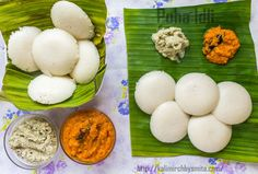 Make soft and fluffy poha idlis for Sunday breakfast and enjoy them with coconut chutney and/or tomato chutney.