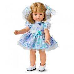 Papusa Berjuan LUX - Sofia rubia Diana, Girls Dresses, Flower Girl Dresses, Pop, Harajuku, Wedding Dresses, Style, Fashion, Pretty Hair
