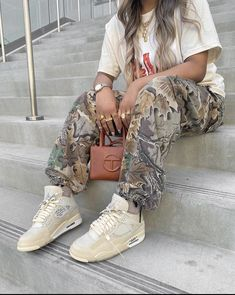 Cute Swag Outfits, Chill Outfits, Girly Outfits, Tomboy Fashion, Streetwear Fashion, Girl Fashion, Fashion Outfits, Swag Girl Style, Girls Summer Outfits
