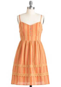 Orange sherbet and stripes...it doesn't get more summer-y than this. ModCloth