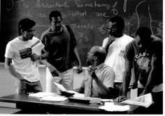 Earnest Wilson teaches a class in the program that would later become known as the Gerald R. Ford School of Public Policy