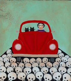frida & cats | Ryan Conners