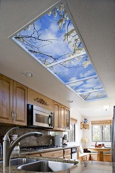 Put a sky view in your home anywhere.