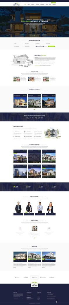 Dom-Inno Real Estate PSD Template • Download ➝ https://themeforest.net/item/dominno-real-estate-psd-template/18453396?ref=pxcr
