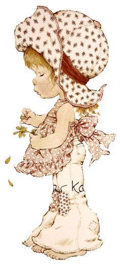 na c d boardu sarah kay in se 2000 slikic in stampiljk Sarah Key, Holly Hobbie, Papier Kind, Cute Girls, Little Girls, Illustrations, Digi Stamps, Cute Illustration, Cute Drawings