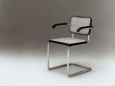 Cesca chair 1928,  designed by Marcel Breuer, american architect-designer