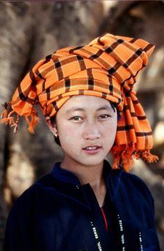 Asia | Pa-o woman, Burma. | ©  Richard K Diran