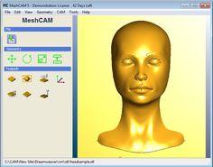 MeshCAM Day 1 - STL Machining Desktop Cnc, Day Left, News Sites, Cnc Machine, Geometry