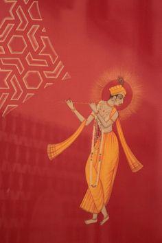The Royal Atelier: Preserving the Legacy of Miniature Paintings in Kishangarh – Storytellers of Wonder Krishna Painting, Krishna Art, Shree Krishna, Lord Krishna, Pichwai Paintings, Indian Art Paintings, Indian Artwork, Indian Artist, Hindu Deities