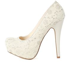 Bamboo Ericka-47 Sequin Glitter Lace Pumps   MakeMeChic.com ($34) ❤ liked on Polyvore featuring shoes, pumps, heels, sapatos, chaussures, high heel shoes, glitter platform pumps, almond toe platform pumps, platform stiletto pumps and almond toe pumps
