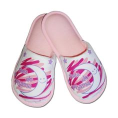 Pantufa Infantil Festa do Pijama Lua Rosa
