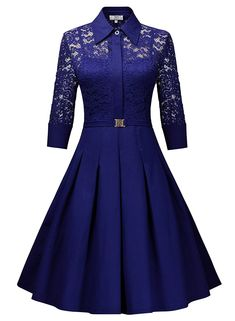 Cheap dresses big sizes, Buy Quality vintage dress directly from China dress slim Suppliers: 2017 Woman Summer Vintage Dress Big Size Rockabilly Lace Party Dresses Slim Elegant Ladies Evening Party Vestidos Long Sleeve Homecoming Dresses, Short Dresses, Casual Dresses, Elegant Dresses, Lace Party Dresses, Vintage Dresses, Dresses Uk, Vintage Lace, Dress Lace
