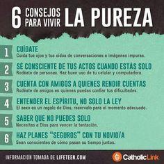 6 Consejos para vivir La Pureza