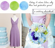 1000 images about wedding color scheme ideas on pinterest - What colour goes with lilac ...