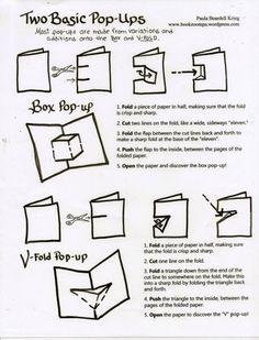 A Nod to Making Pop-Ups- It's been a while since I had to make a pop up book, but this will be a good refresher! Arte Pop Up, Pop Up Karten, Tarjetas Pop Up, Paper Pop, Paper Engineering, Book Projects, Pop Up Cards, Card Tutorials, Book Binding