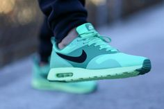 Nike Air Max Tavas: Green Glow. Gonna get these shows. Not sure which color