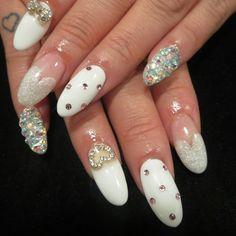 Christmas nails by glam nail studio