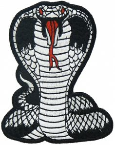 cobra snake patch