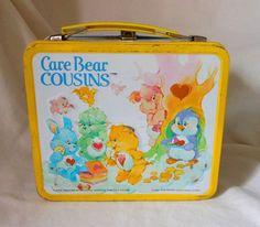 Vintage Lunch Box- Care Bear Cousins 1985