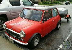 LOVE IT! Awesome Towin Tuesday Innocenti Cooper combo