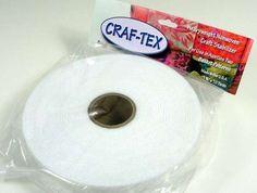 Sew-in Non-Woven Heavyweight Craf-tex 1-3/4in x 10yd Craft Stripsat-437
