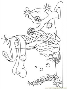 Ocean Scene Coloring Pages Ocean Scene Coloring Pages http