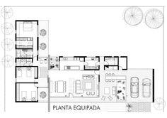 Suburban Dwelling,Plan