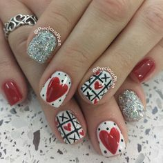 valentine by preciousphan #nail #nails #nailart