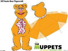 Fozzie - Muppets Free Printables