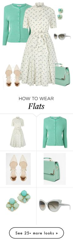"""""""outfit 3723"""" by natalyag on Polyvore featuring L.K.Bennett, ASOS, Kate Spade and Tom Ford"""