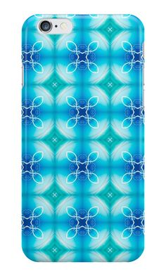 """""""Texture """"east pattern"""" the blue"""" iPhone Cases & Skins by floraaplus 