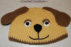 Puppy Dog Hat Crochet Pattern- FREE« The Yarn Box The Yarn Box