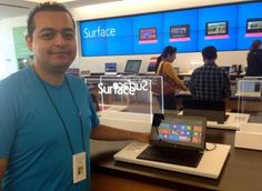 My write-up of spending a bit of time with the new Windows 8 and Microsoft's Surface tablet.
