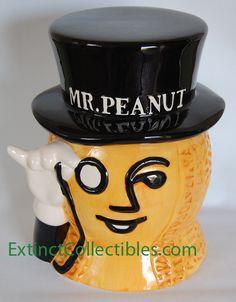 Mr. Peanut Cookie Jar