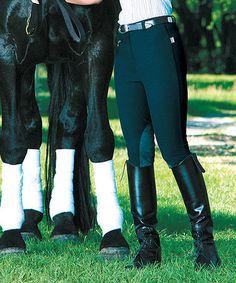 Look at this #zulilyfind! Black Versailles Riding Breeches - Women by Devon-Aire #zulilyfinds