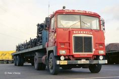 Scammell Crusader Vintage Trucks, Old Trucks, Classic Trucks, Classic Cars, Old Lorries, Semi Trailer, Truck Interior, Commercial Vehicle, Tow Truck