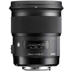 Sigma 50 mm/1,4 DG HSM Canon - Art - - Calumetphoto.de